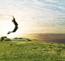 jump-joy-grass-sky